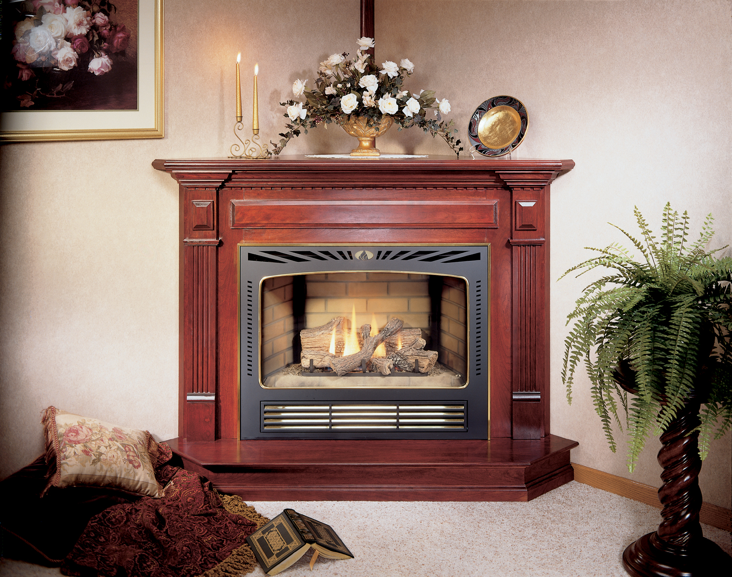 Central fireplace products fireplaces cf 3036 pics 1 for Central fireplace