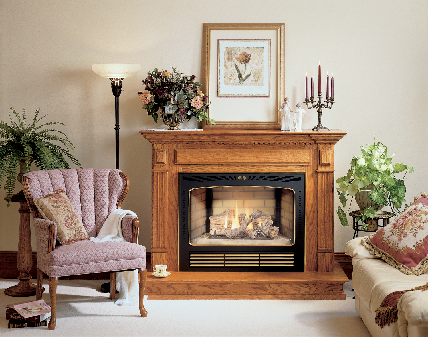 Central fireplace products fireplaces cf 3036 pics 2 for Central fireplace
