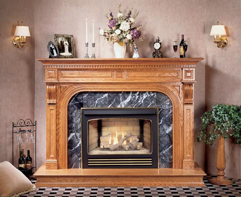 Central fireplace products fireplaces cf 3036mv for Central fireplace