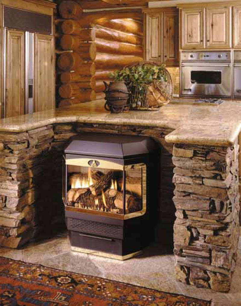 Central fireplace products freestanding cf 42 fs for Central fireplace