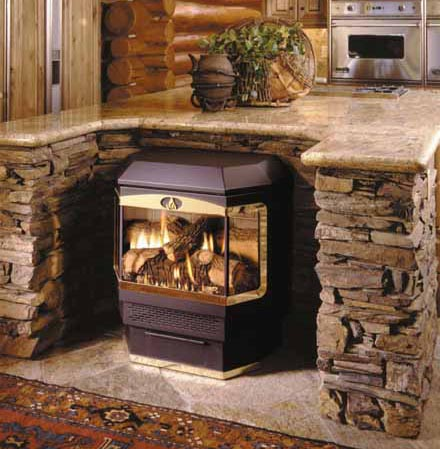 Central Fireplace Products Freestanding Cf 42 Fs
